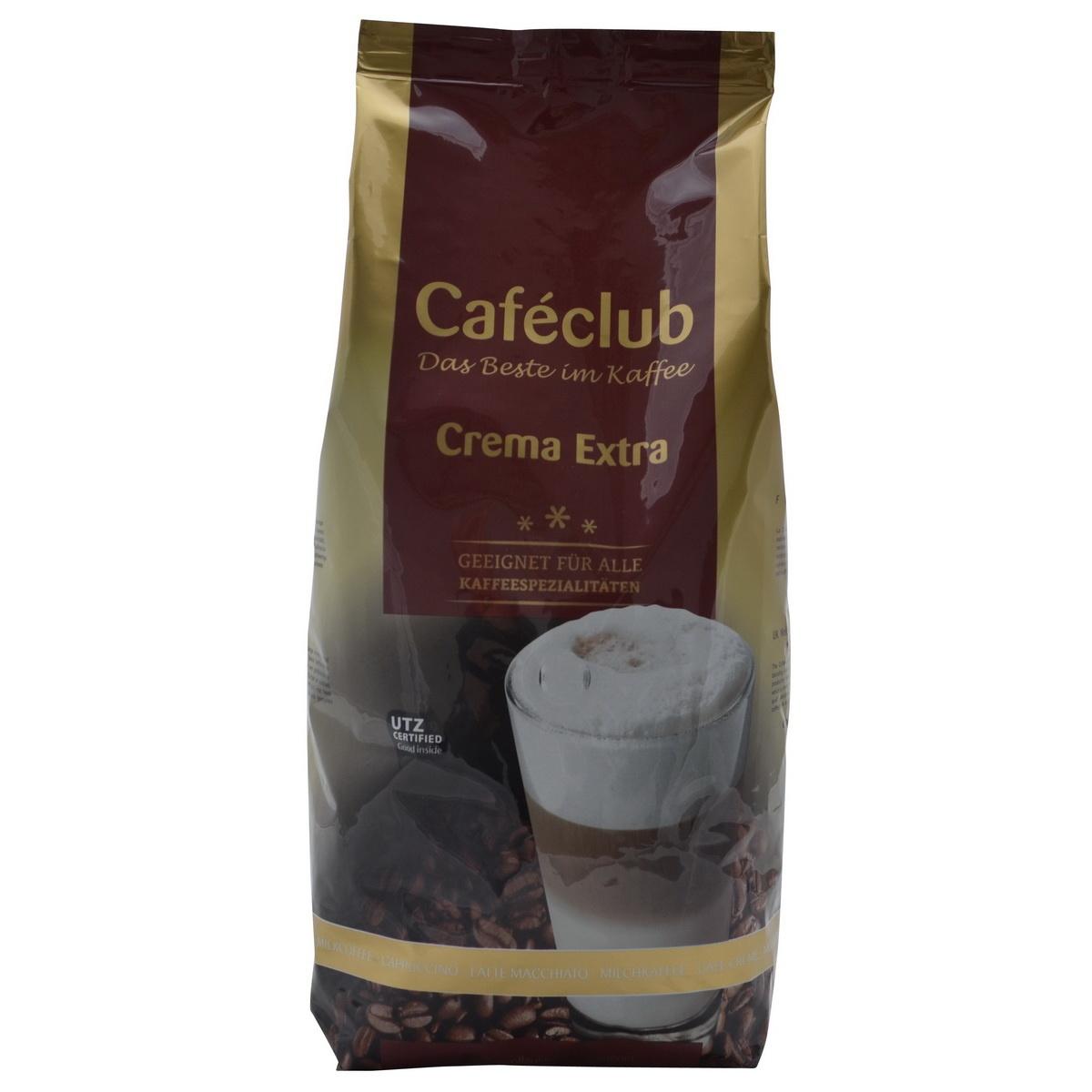 Caféclub Crema Extra bonen 1 kg. nu vanaf € 7.50