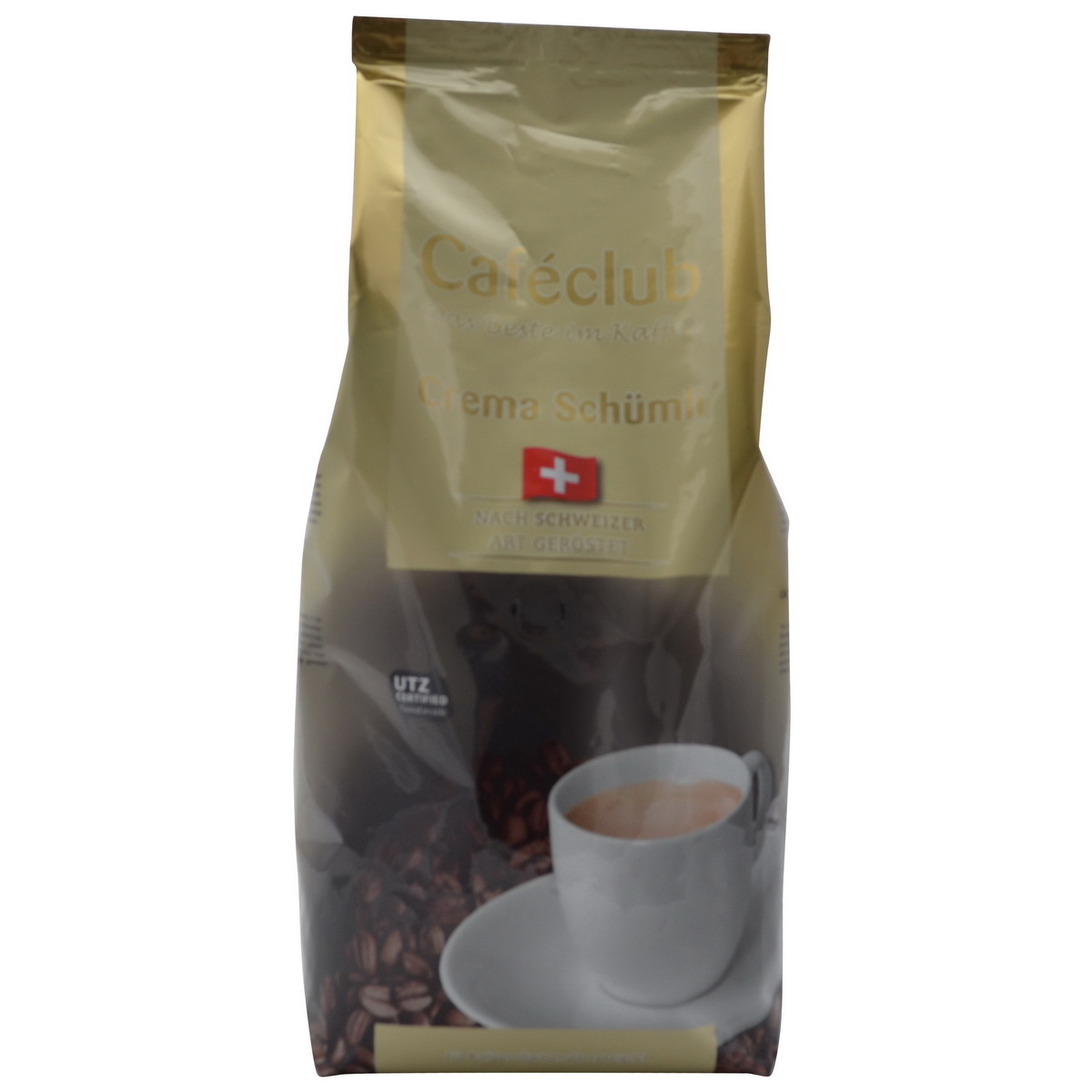 Caféclub Crema Schümli bonen 1 kg. nu vanaf € 7.50