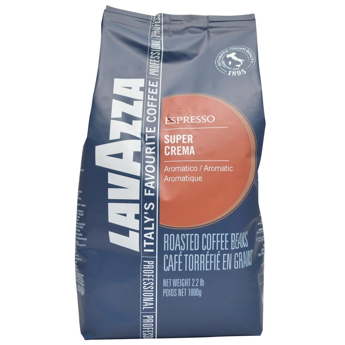 Lavazza Super Crema bonen 1 kg vanaf € 12.35