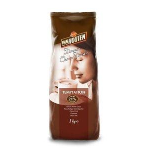 Van Houten Choco drink met 21% Cacao 1 kg.