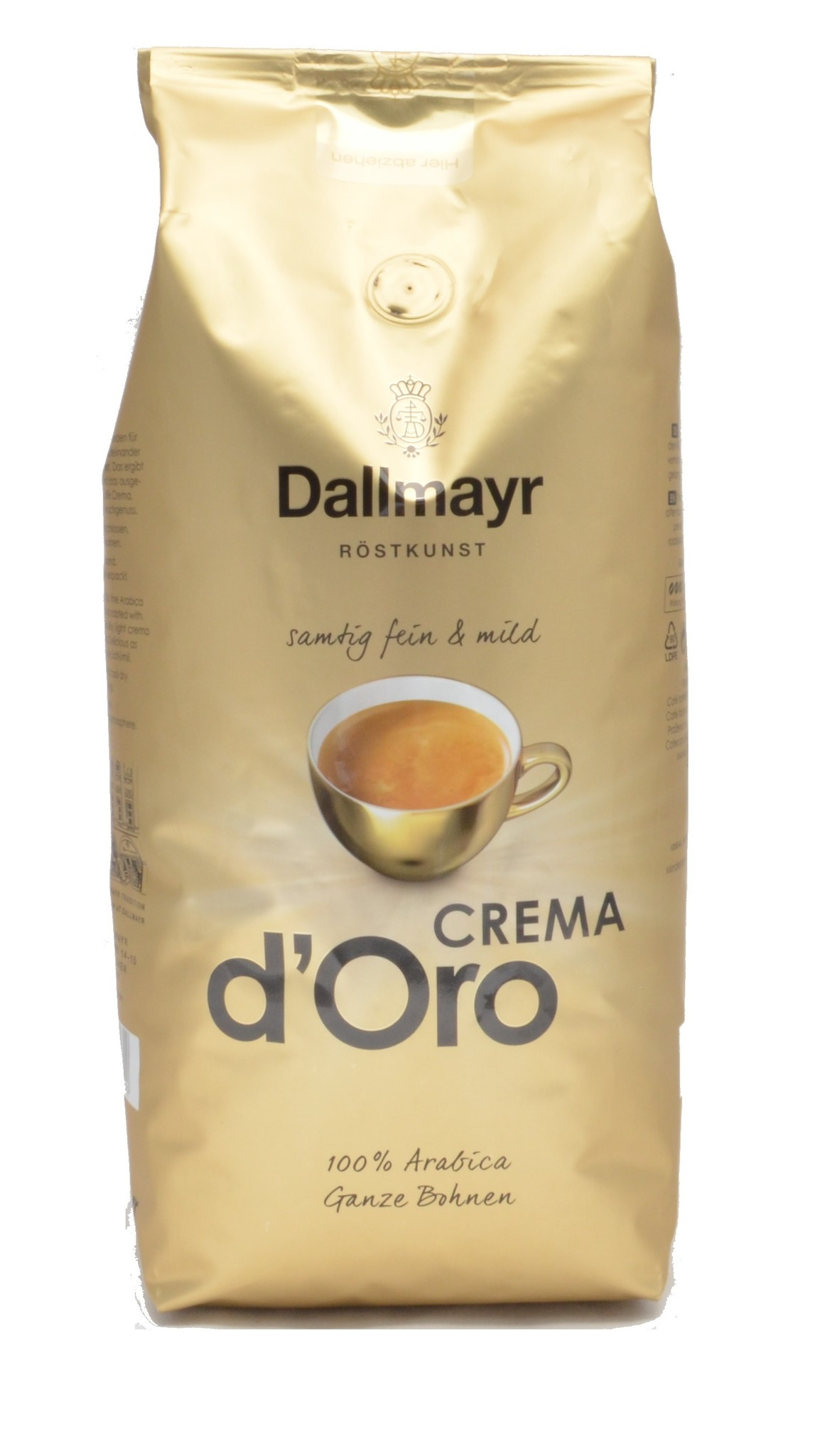 Dallmayr Crema d'Oro Bohnen 1 kg