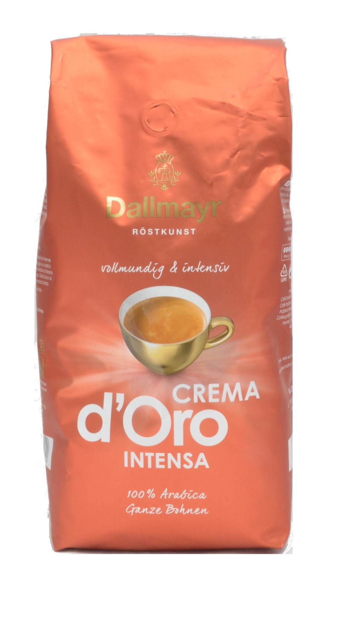 Dallmayr Espresso Crema d'Oro Intensa bonen 1 kg. vanaf € 9.95