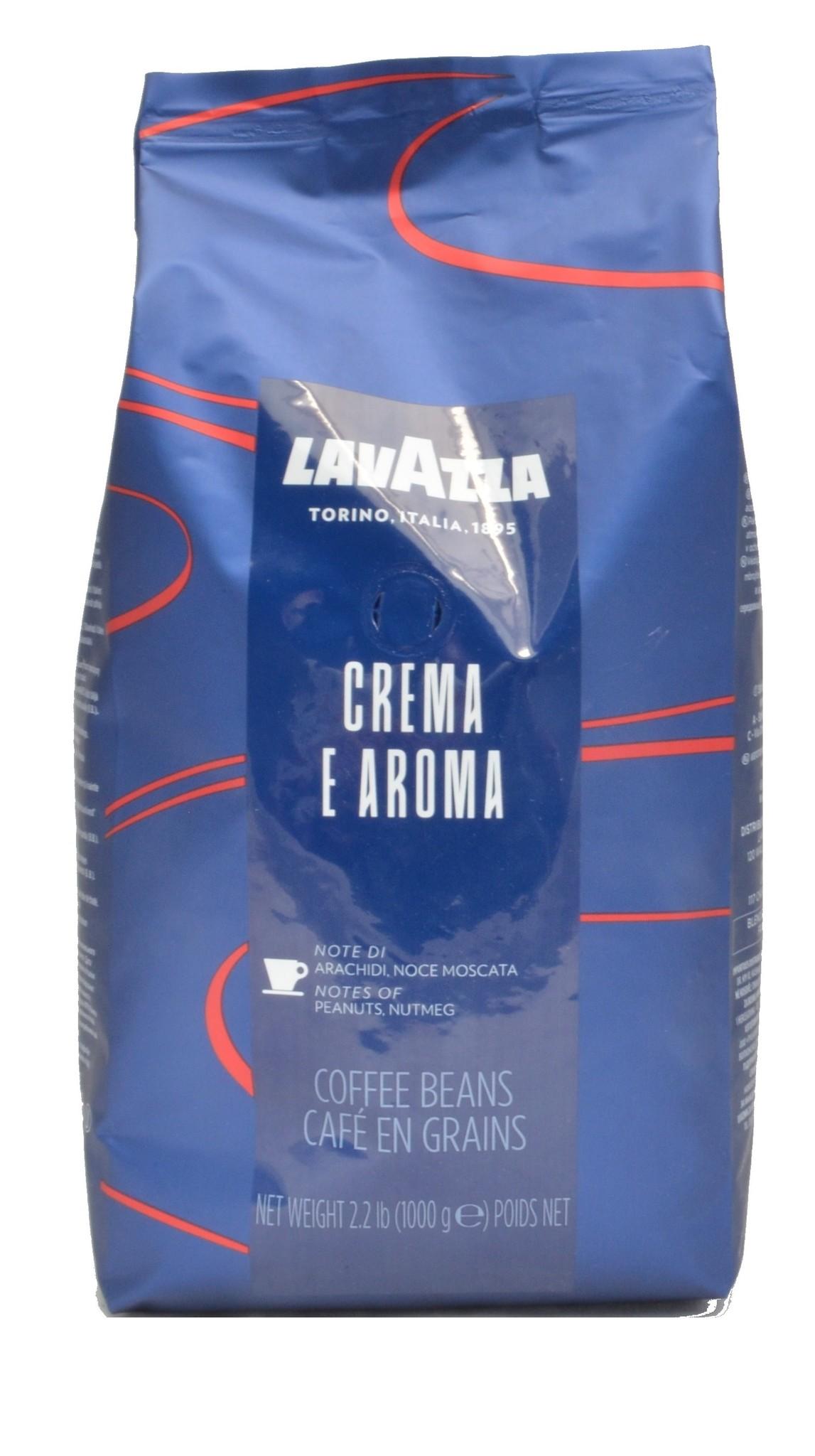 Lavazza Crema E Aroma Espresso Blue bonen 1 kg. nu vanaf € 12.72