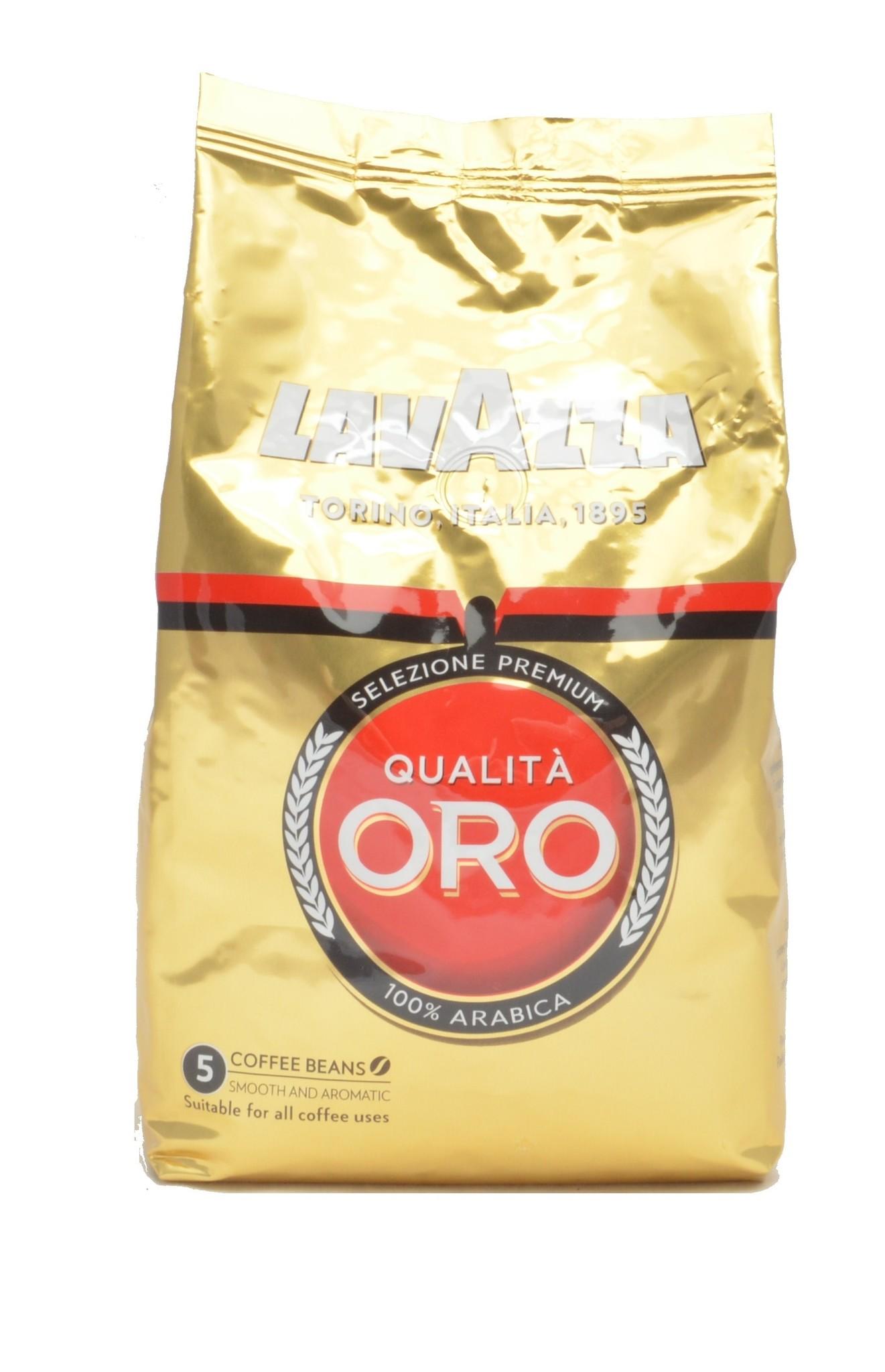 Lavazza Qualita Oro bonen 1 kg. vanaf € 11.25