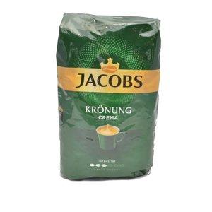 Jacobs Kronung cafe crema bonen 1 kg.