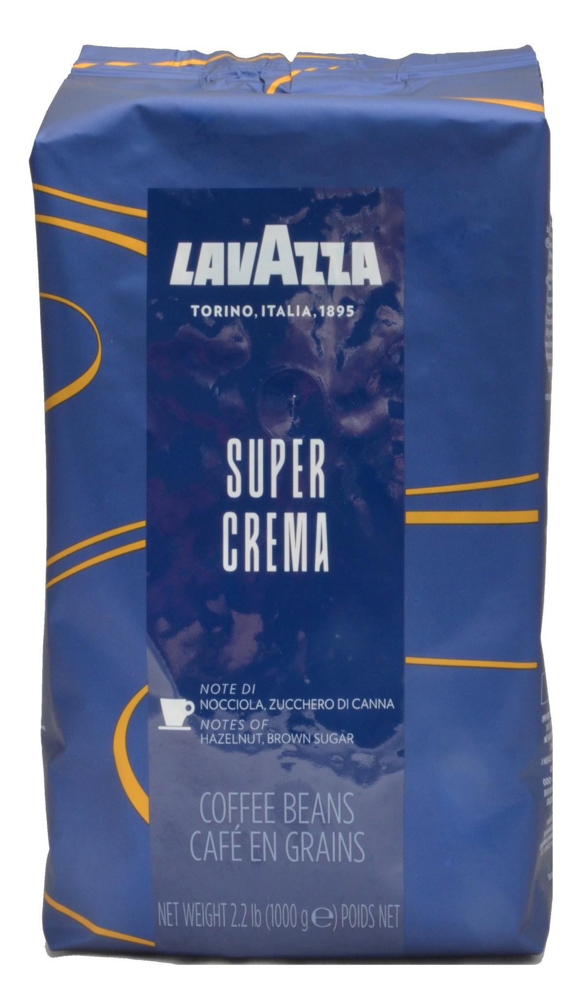 Lavazza Super Crema Bohnen 1 kg ab € 12.35