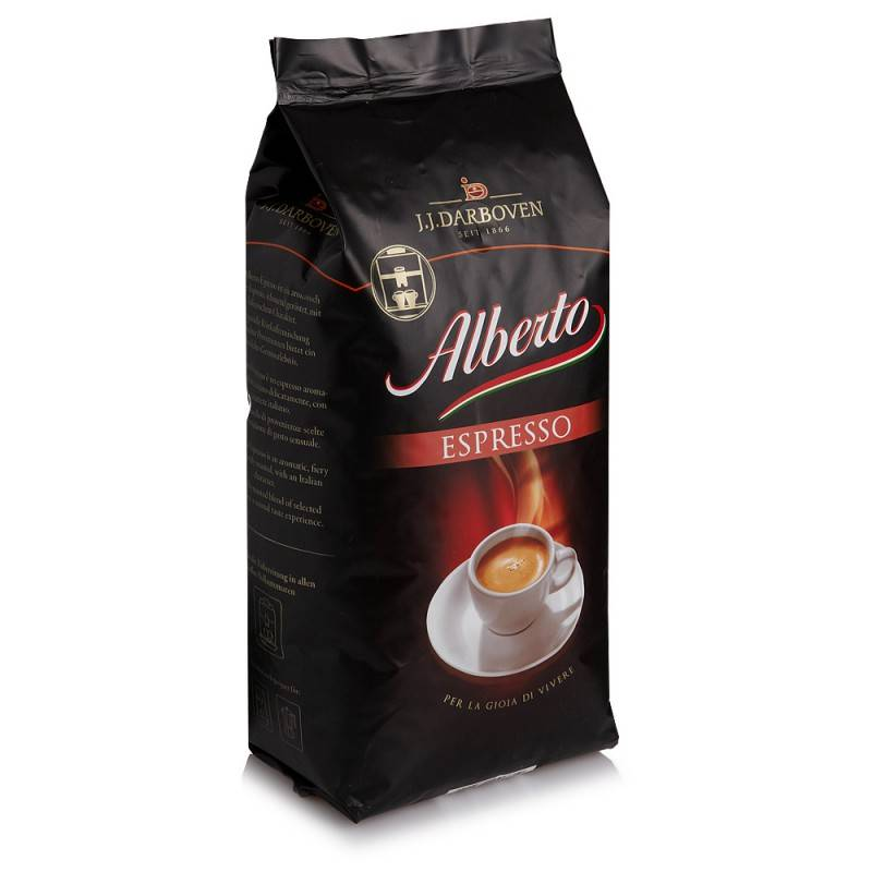 Alberto Espresso bonen 1 kg. nu € 5.50