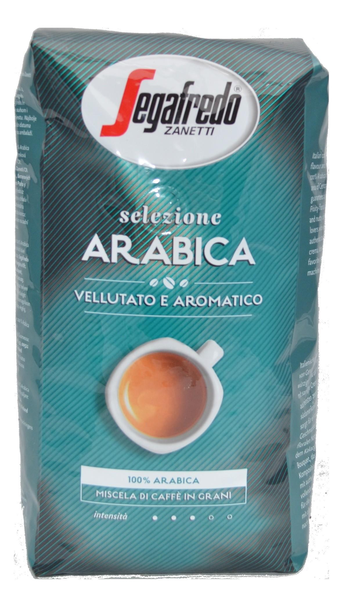 Segafredo Selezione Arabica Bohnen 1 kg ab € 9.75