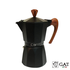 G.A.T. Italia Moka potje Fashion wood 6 kops