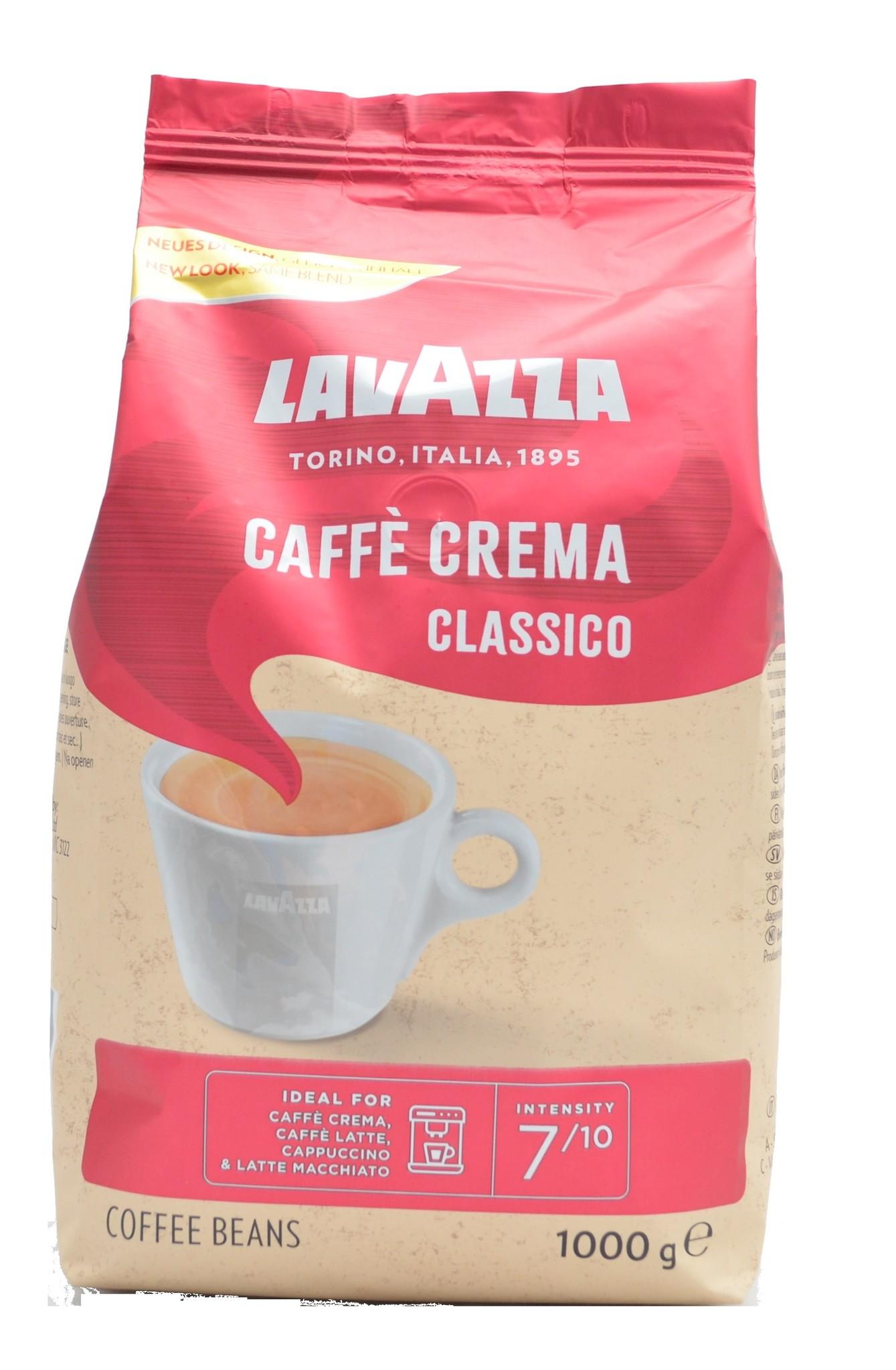 Lavazza Caffé Crema Classico bonen 1 kg. vanaf € 9.50