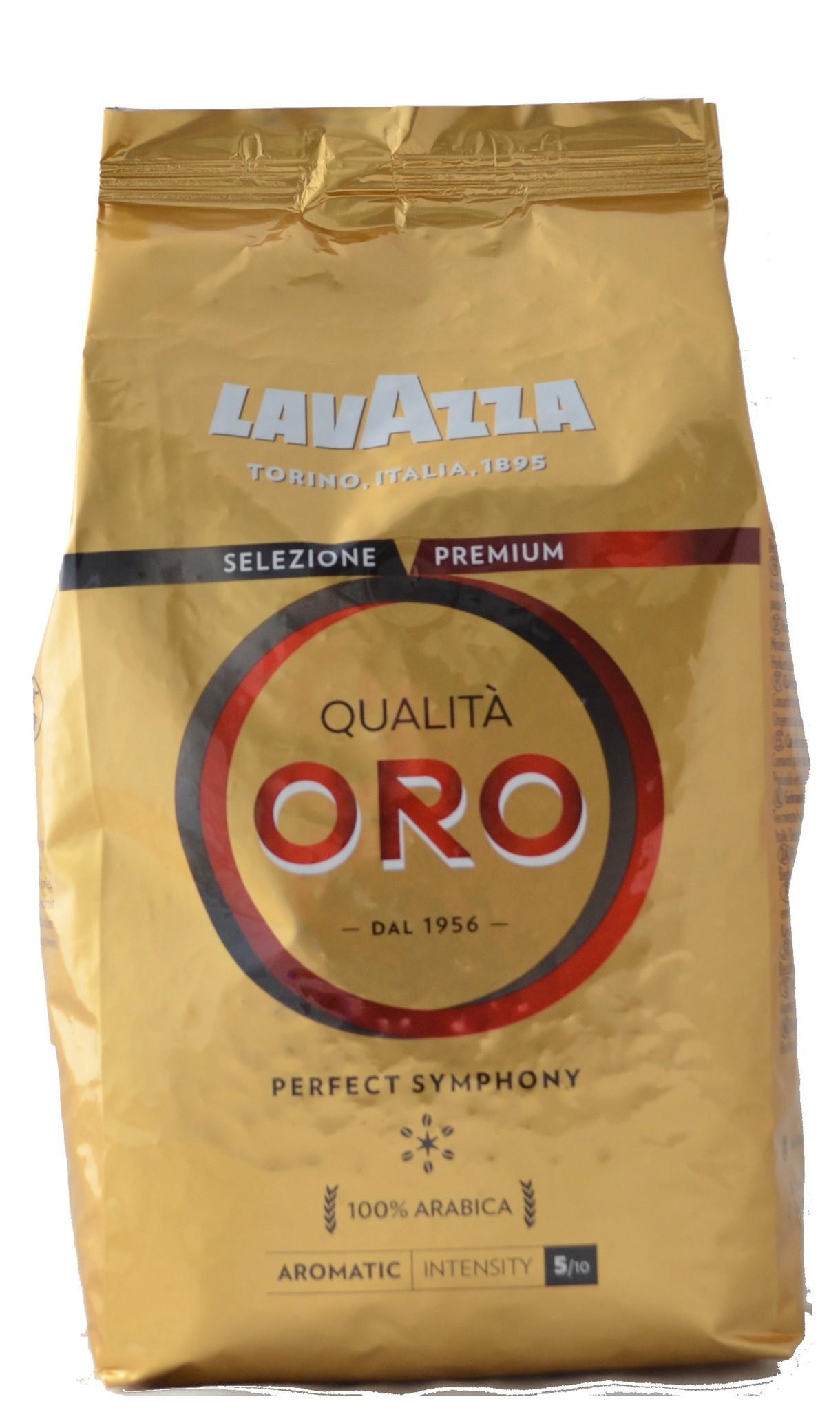Lavazza Qualita Oro bonen 1 kg. vanaf € 11.50