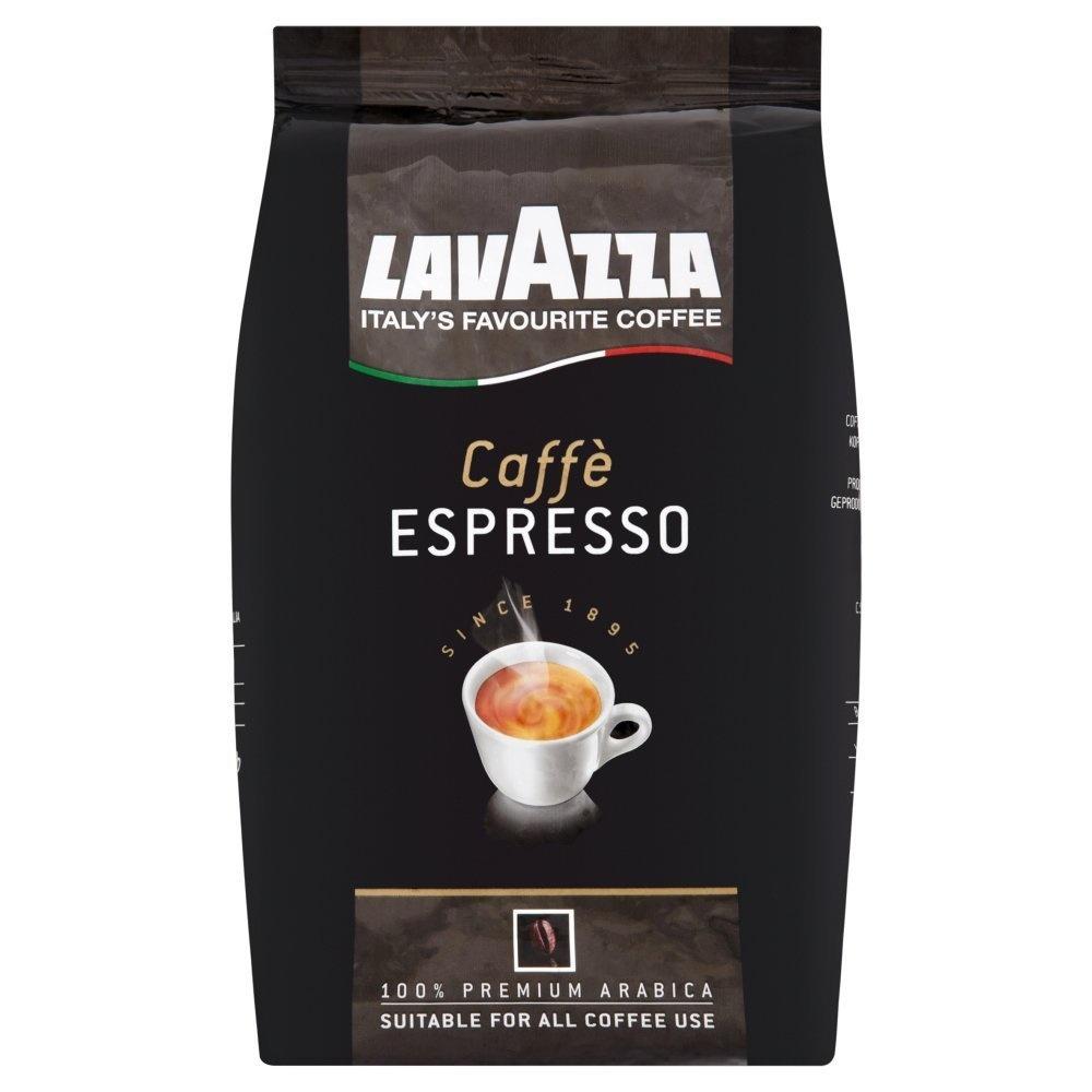 Lavazza Caffe Espresso bonen1 kg. vanaf  € 12.95