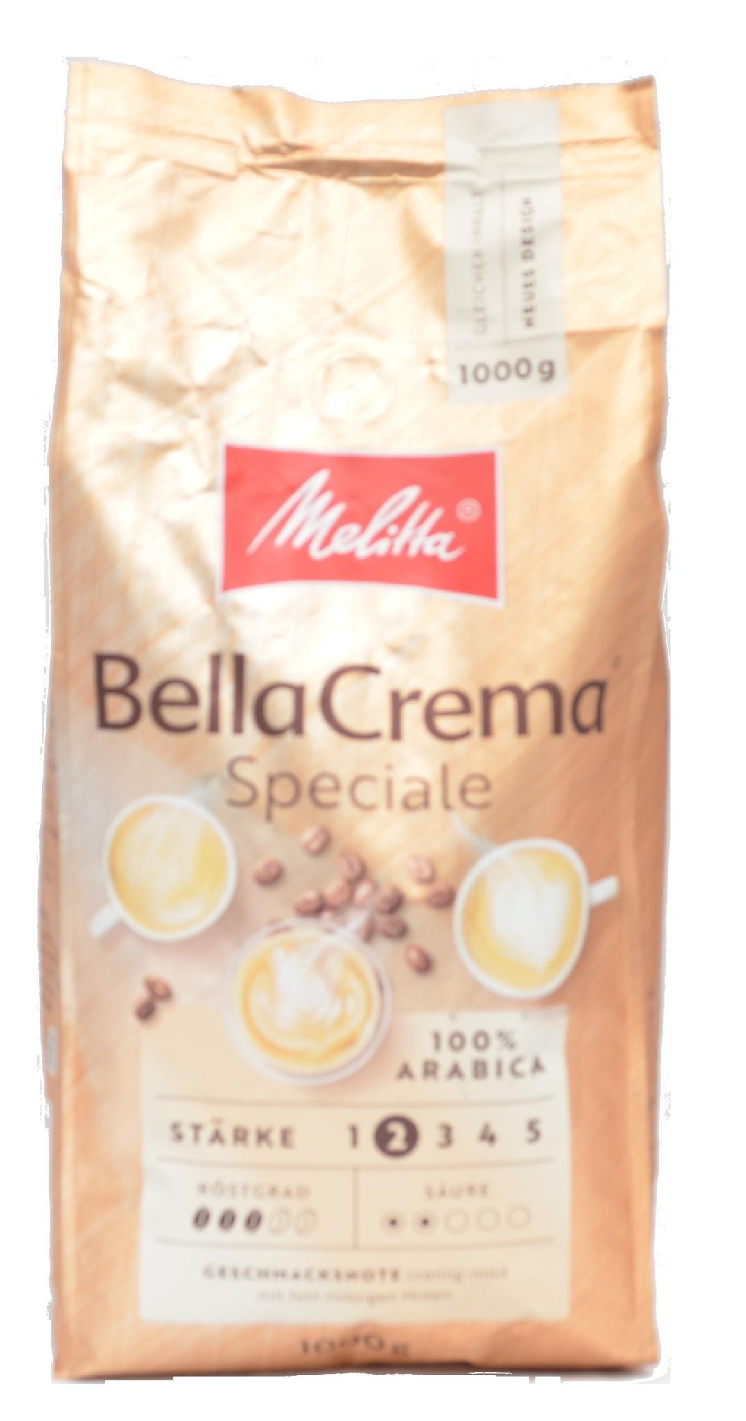 Melitta Bellacrema Speciale Bohnen 1 kg ab € 8.27