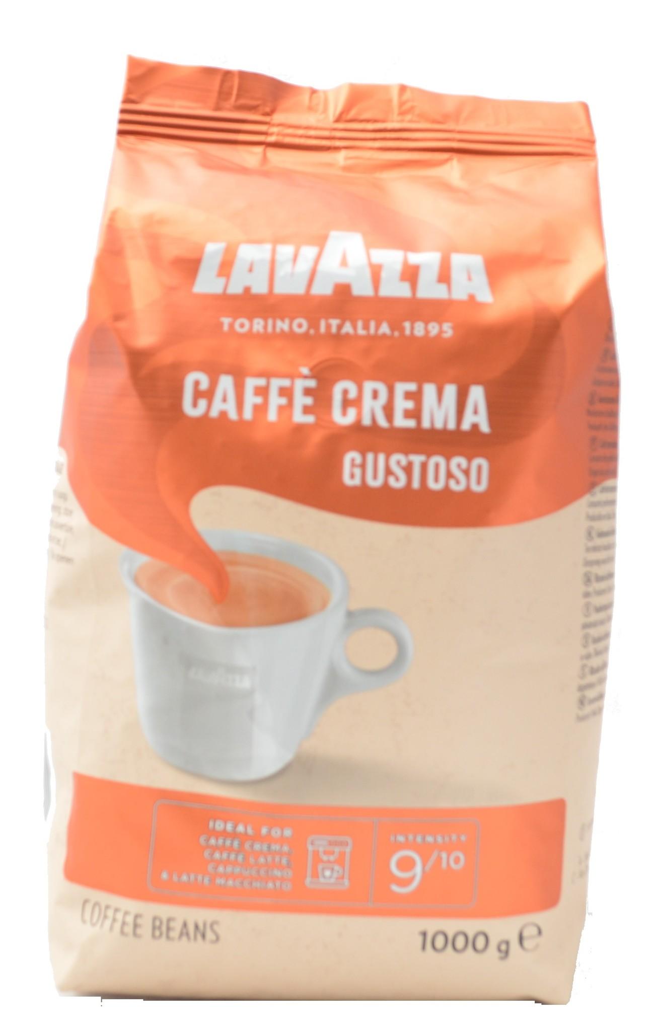 Lavazza Caffé Crema Gustoso bonen 1 kg vanaf € 9.50