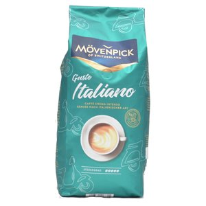 Mövenpick Caffè  Crema Gusto Italiano bonen 1 kg.