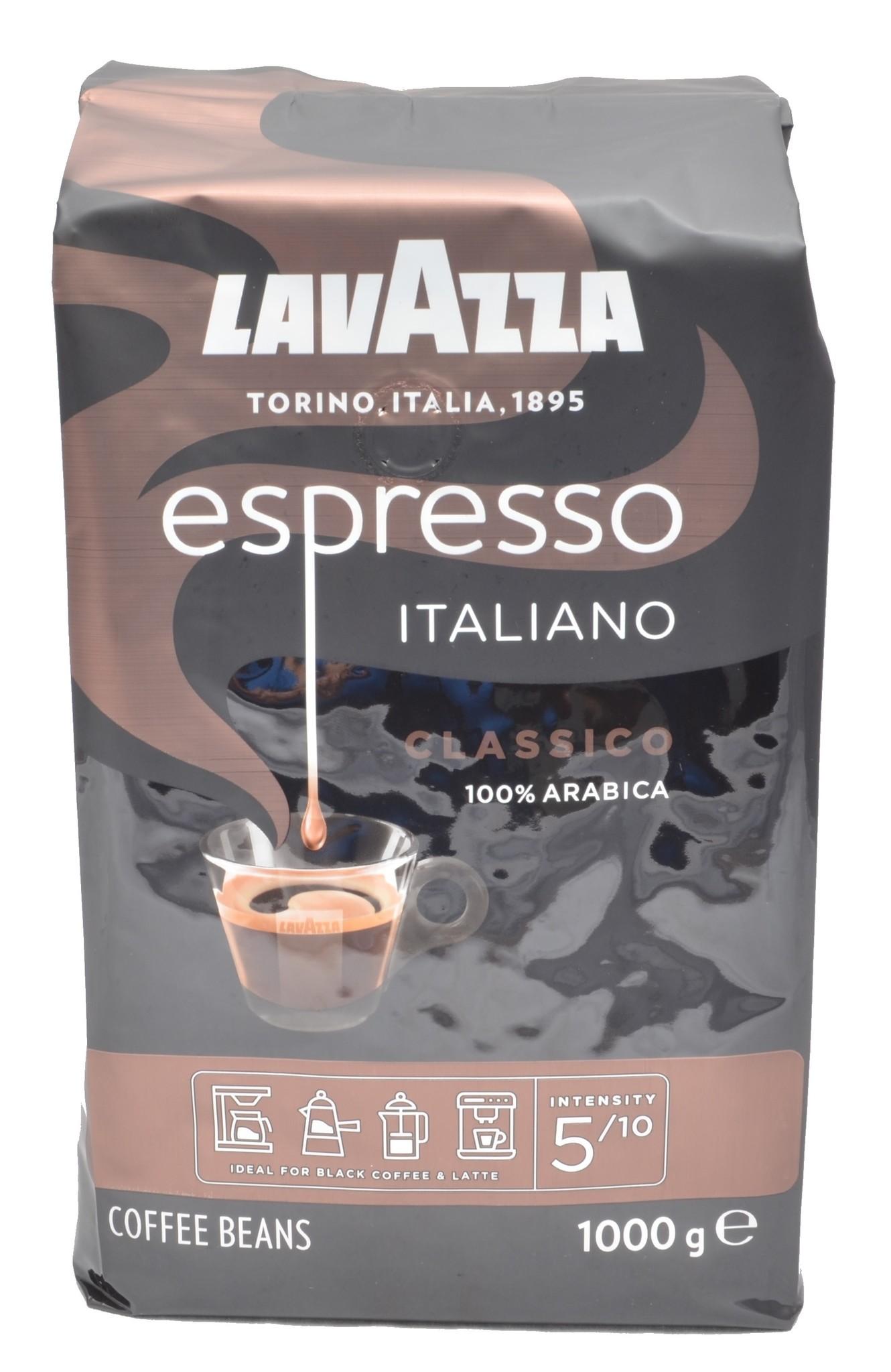 Lavazza Caffe Espresso Classico Italiano 1 kg vanaf € 12.95