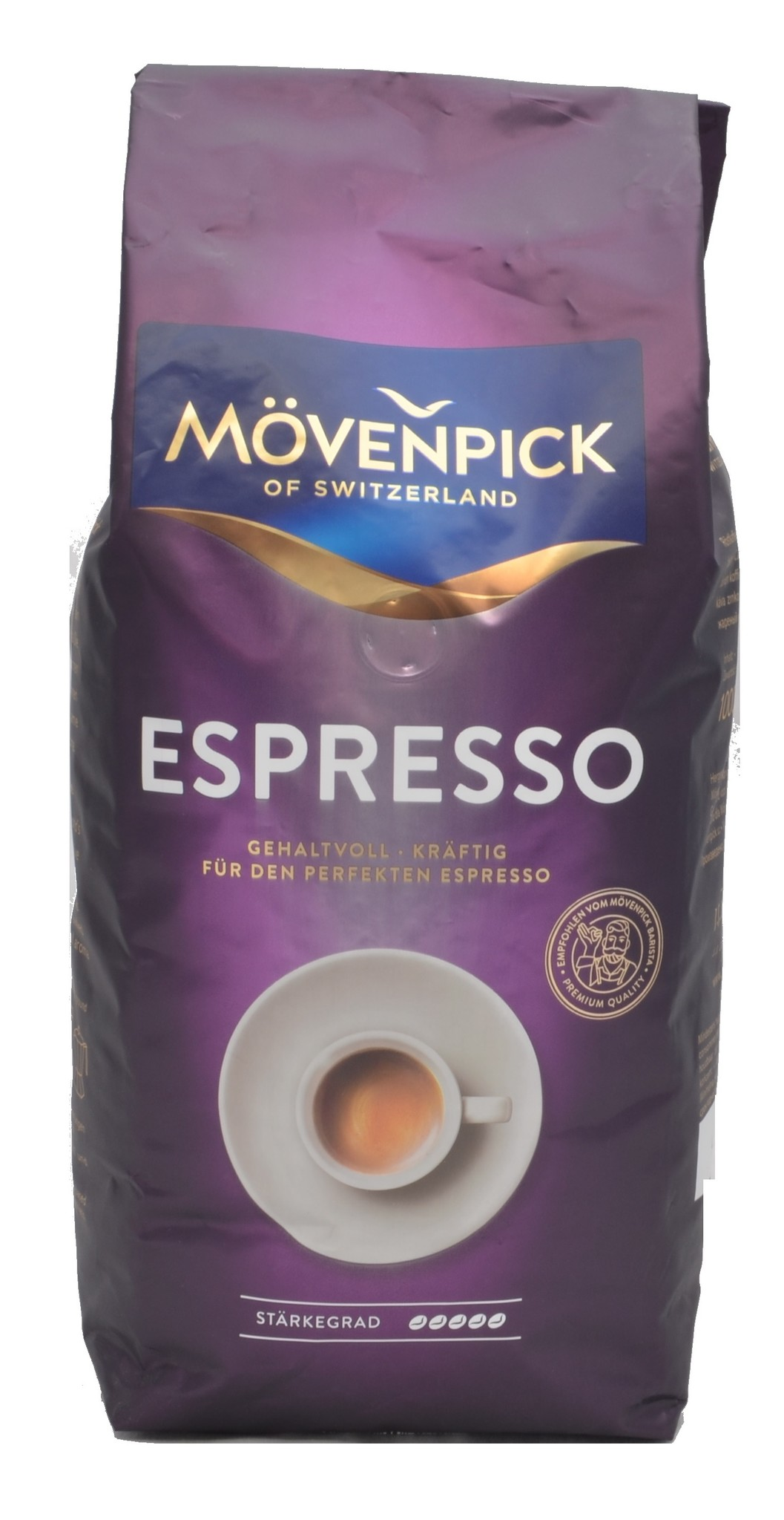 Mövenpick Espresso bonen 1 kg. nu vanaf € 7.50