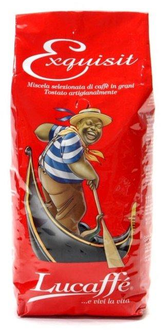 Lucaffé Exquisit Bohnen 1 kg kurze Haltbarkeit