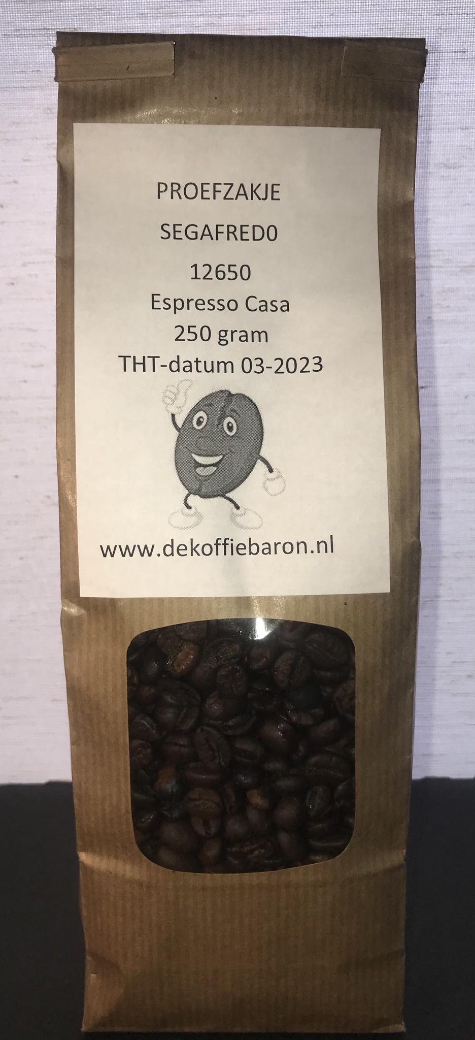 Segafredo Espresso casa bonen 1 kg nu vanaf € 6.95
