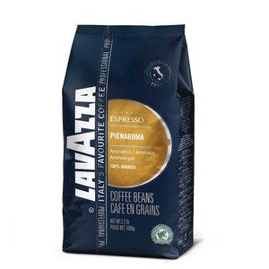 Lavazza Pienaroma Espresso Blue bonen 1 kg.