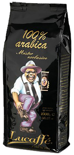 Lucaffé Mr. Exclusive 100% arabica bonen 1 kg vanaf € 19,52