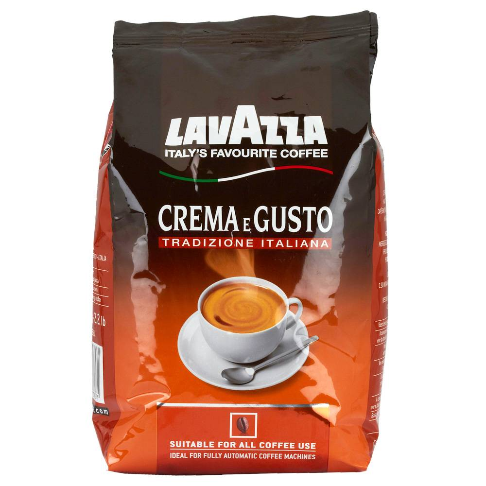Lavazza Crema e Gusto tradizione bonen 1 kg. vanaf € 9.45