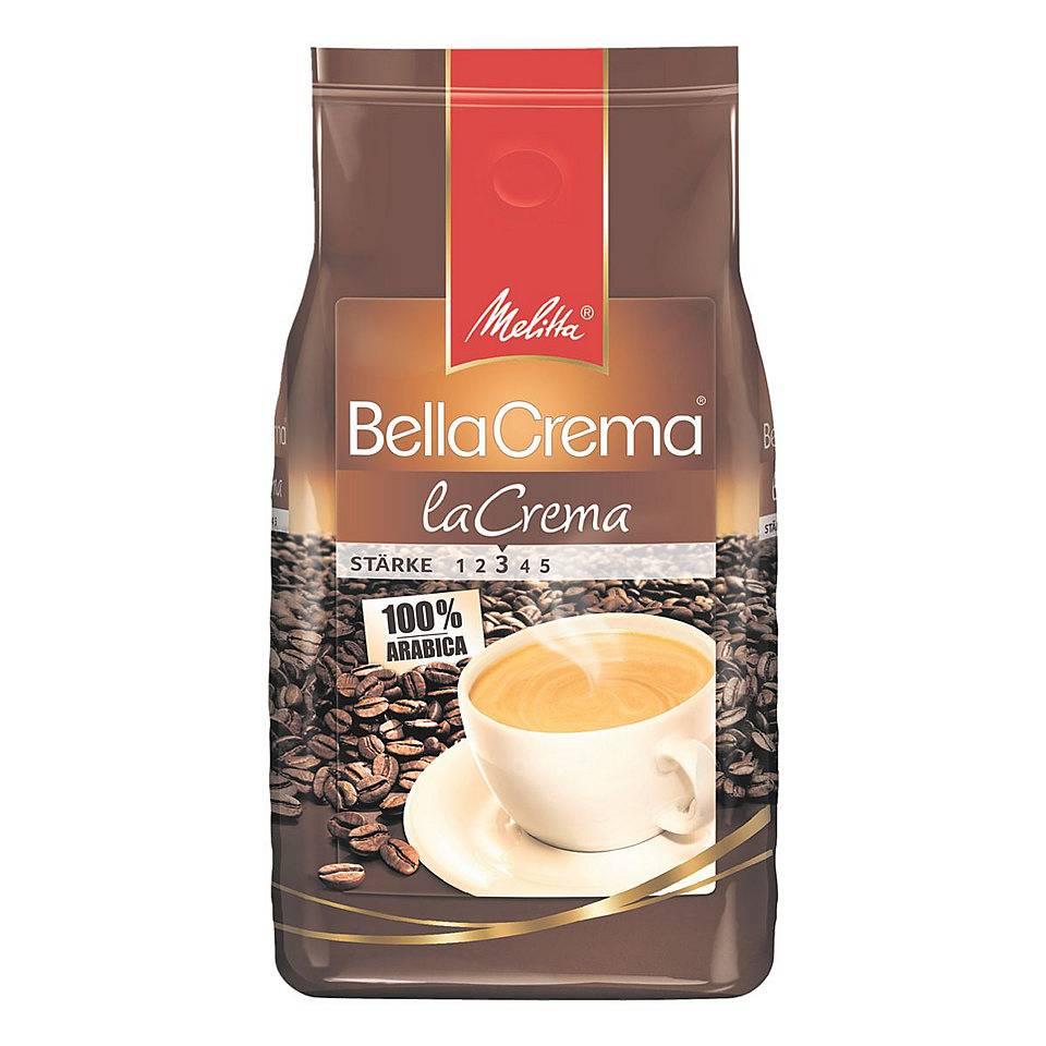 Melitta Bellacrema la crema bonen 1 kg. vanaf € 8.19