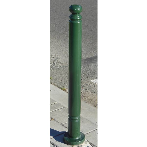 Trottoirpaal Antique + RAL 6009 (groen)