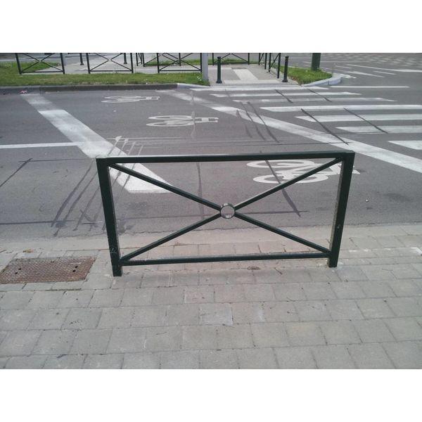 Groot hek Sint-Andries - 1630 x 1100 mm  - Groen (RAL 6009)