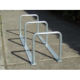 Bicycle rack with 3 arcs 2000 x 600 x 650 mm