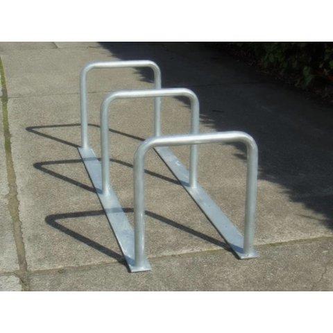 Bicycle rack with 3 arcs 2000 x 600 x 650 mm