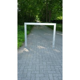Large bike rack 1500 x 1200 - rectangular galvanized
