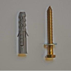 Fixation pour ralentisseur  Big 5, Slowly 10cm (M12x10)