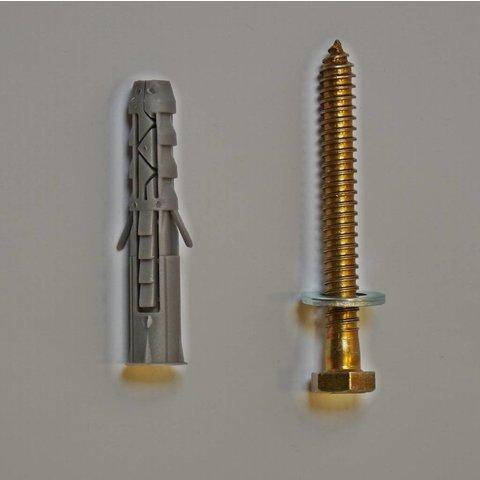 Bevestiging voor drempels Big 5, Slowly 10 cm (M12x10)
