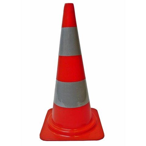 PVC traffic cone 75 cm - Class 2