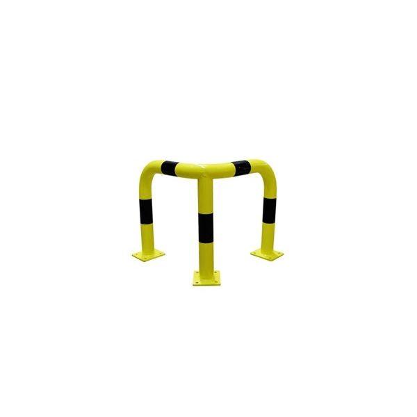 Arceau de protection d'angle en acier - Ø 76 mm