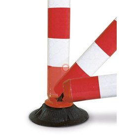 Flexible bollard FLEXPIN - Red/White