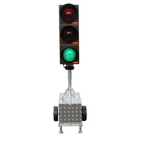 Temporary traffic light