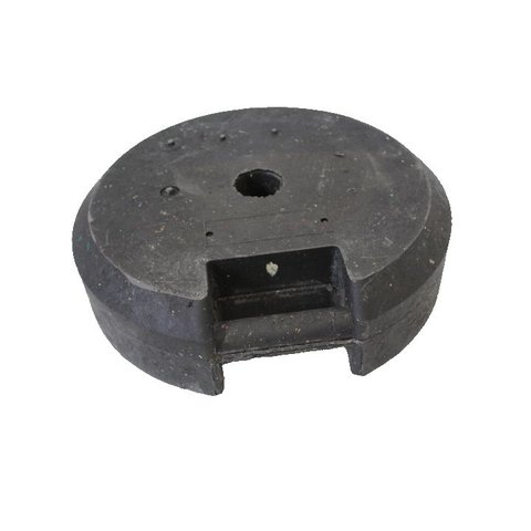 Round temporary base  25 kg