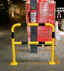 Collision protection bollards and barriers