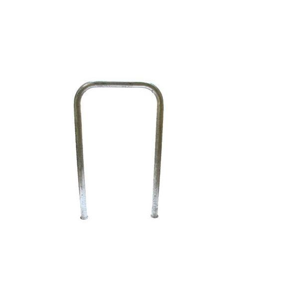 Bike Arc rack 600 x 1000 mm - U profile green or galvanized