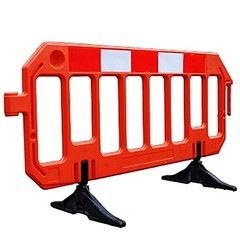 Safety barriers, barricades and netting