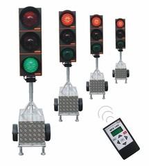Tijdelijke verkeerslichten en mobiele verkeerlichten