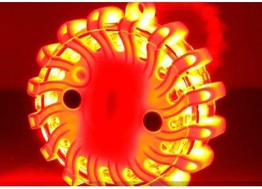 Waarschuwingslichten, toortsen en seinlampen
