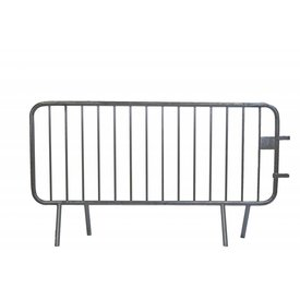 Crowd control barrier 14 bars - 200 x 110 cm