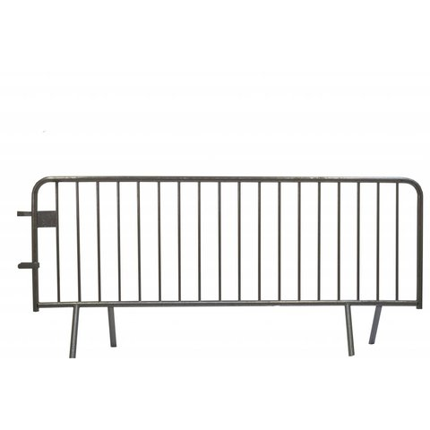 Crowd control barrier 18 bars - 250 x 110 cm