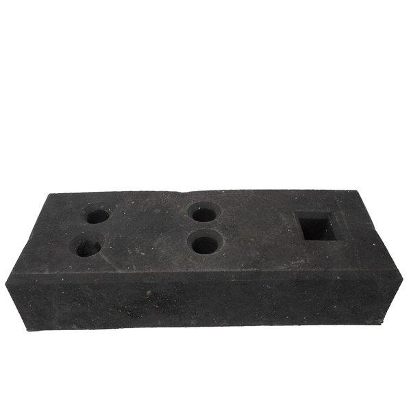 Socle pour clôtures de chantier - 25 kg - PVC recyclé