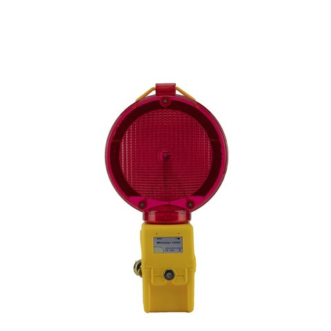 Warning lamp MINISTAR red