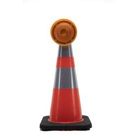 STAR Lampe de chantier pour cônes de signalisation