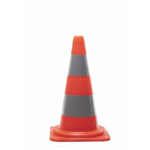 PVC traffic cone 50 cm - Class 2